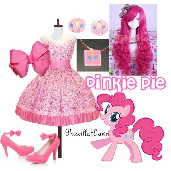 """Pinkie Pie"" by grace-buerklin on Polyvore"