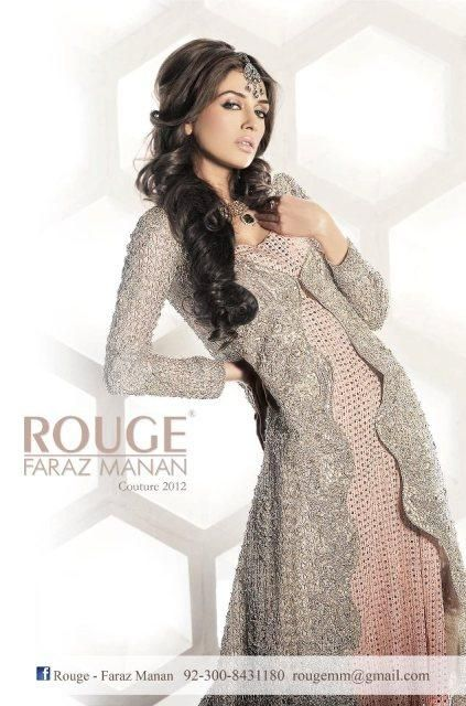 Rouge by faraz manan couture dresses jewelry collection for Couture meaning in urdu