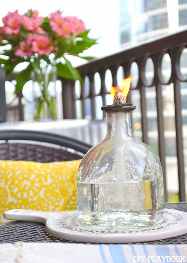 Patron Bottle Citronella Candle