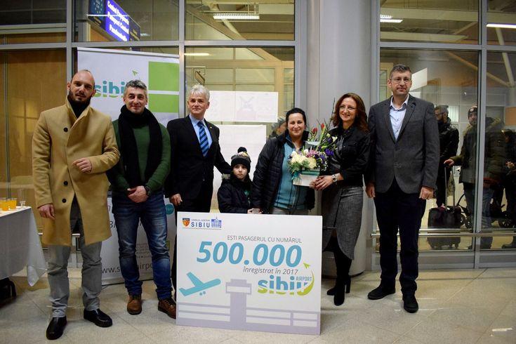 Aeroportul Internațional Sibiu a depășit pragul de 500 000 de pasageri