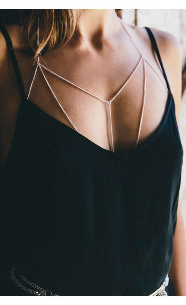 Finer Things Body Chain l White Fox Boutique