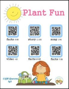 "FREE LANGUAGE ARTS LESSON – ""Plant Fun Using QR Codes"" - Go to The Best of Teacher Entrepreneurs for this and hundreds of free lessons. Kindergarten - 3rd Grade   #FreeLesson     #LanguageArts     thebestofteachere..."