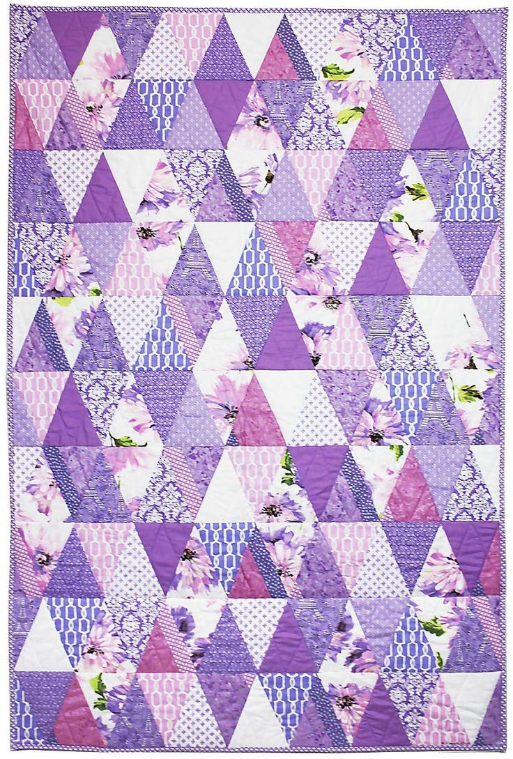 Quilt Patterns And Fabric : Best 25+ Purple quilts ideas on Pinterest Jelly roll sewing, Jellyroll quilt patterns and ...
