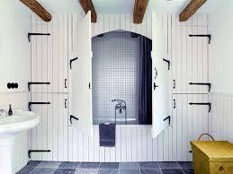 litet lantligt badrum