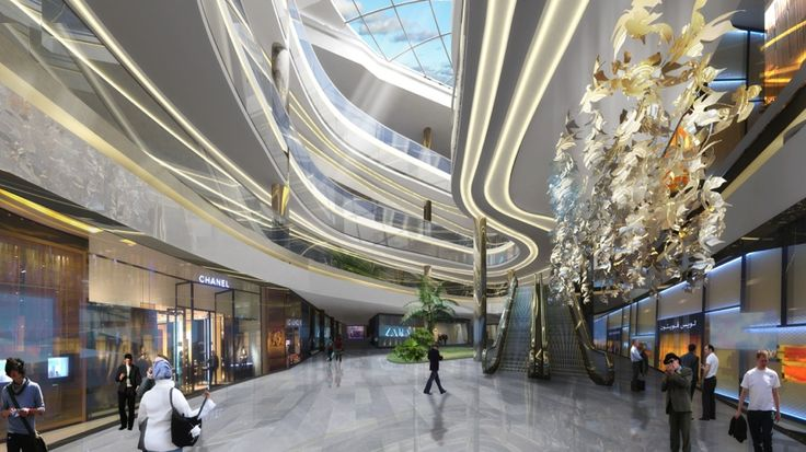 Shopping Malls Interior Dubai Google Search Shopping