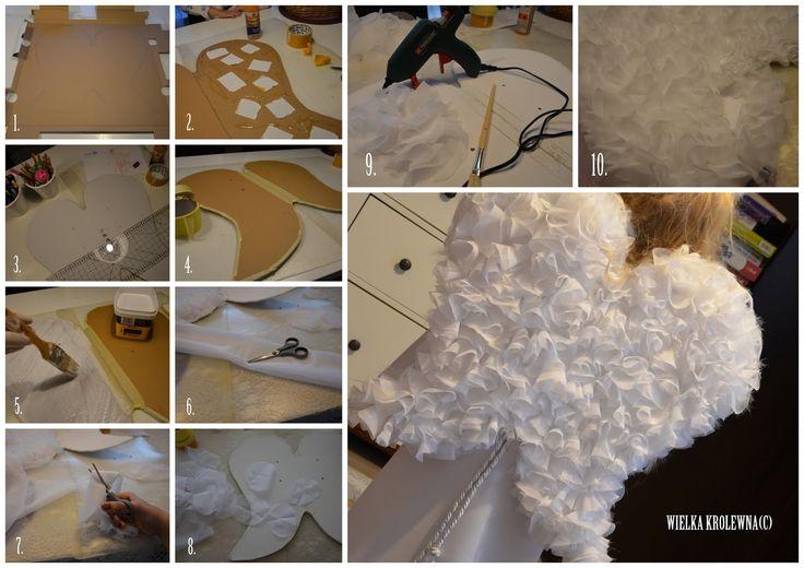Skrzydła Anioła - zrób to sam/ Angel's wings DIY