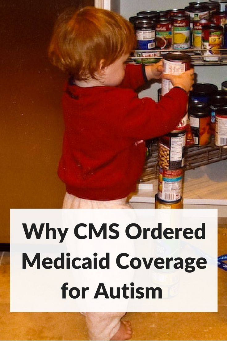 Medicaid coverage of autism services ordered by CMS