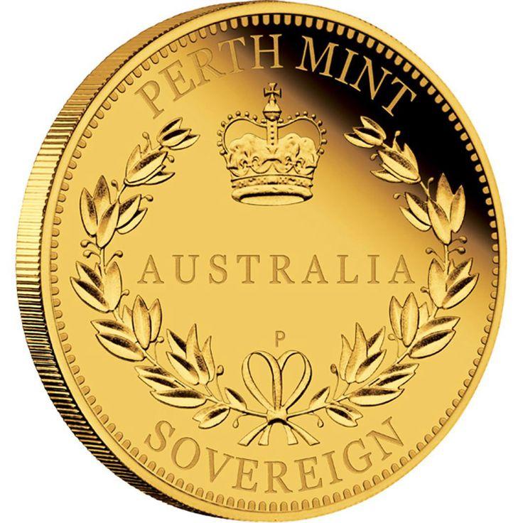 Australian Sovereign 2014 Gold Proof coin.