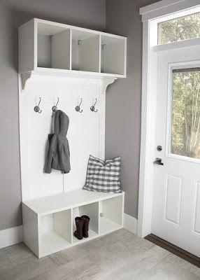 5 muebles DIY para el recibidor