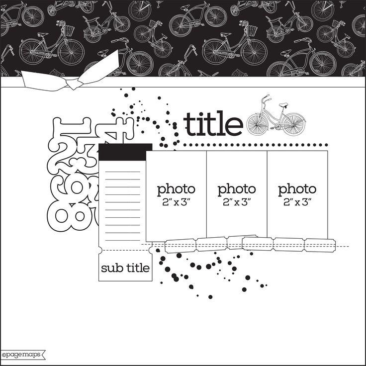 Préférence 94 best Sketch / Plantillas Scrapbooking images on Pinterest  FB47