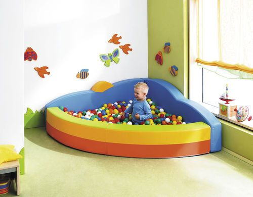 Ball pool / foam for motricity 137470 HABA France