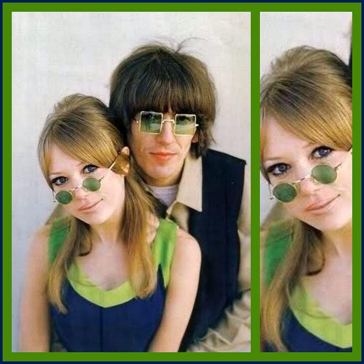 Pattie Boyd & George Harrison 1967 – High Low Vintage