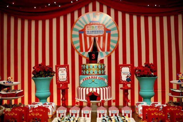 Glamour Personalizados: O Grande Circo do Matheus Jazom