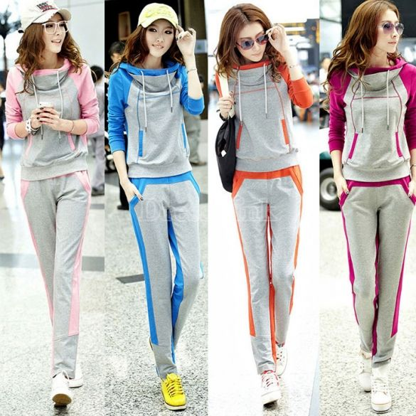 US$ 13.90 Women's Sportswear Leisure Suit Sweater Autumn Section Sport Package http://www.uksportsoutdoors.com/product/pavao/