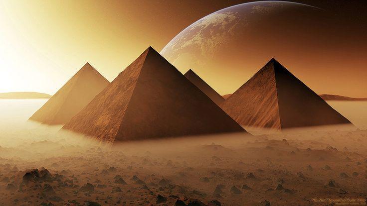 The Great Pyramids of Kaiser 1 by nethskie.deviantart.com on @DeviantArt