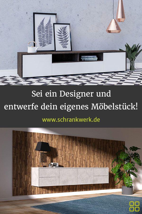 Werde selbst zum Möbeldesigner und gestalte deinen neuen Schrank, dein neues Re…