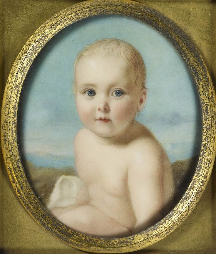 Принцесса Алиса (1844-1878)  Подпись и дата +1844