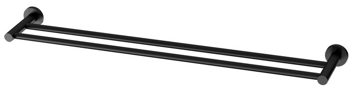 ABL Tile Centre - Radii Double Towel Rail 800mm Matte Black, $119.00 (http://www.abltilecentre.com.au/radii-double-towel-rail-800mm-matte-black/)