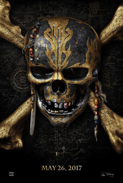 First Look at the Teaser Poster and Trailer for Pirates of the Caribbean: Dead Men Tell No Tales