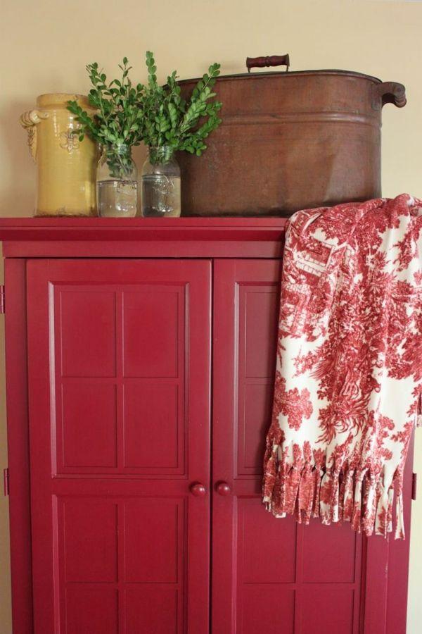 Armoire Enfant Rouge - Maison Design - Wiblia.com