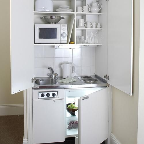 hidden kitchenette-for the guest house?