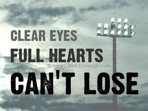 Friday Night Lights = my favorite show of all time.