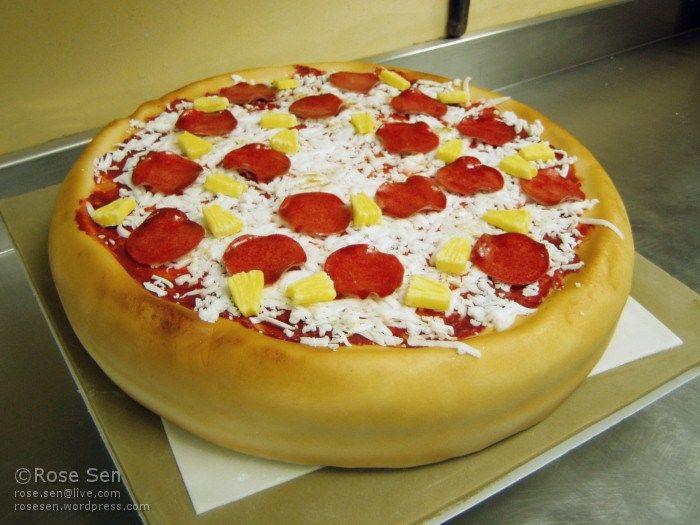 Cake Decorating Ideas Pizza : Best 20+ Pizza cake ideas on Pinterest Pizza birthday ...