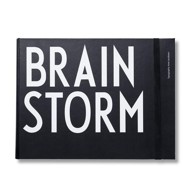 Design Letters Brainstorm Anteckningsbok, Design Letters