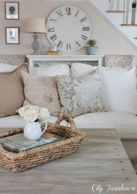 CIty Farmhouse living room