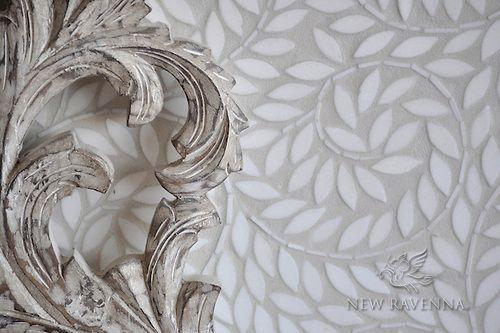 Jacqueline Vine Mosaic Backsplash | New Ravenna