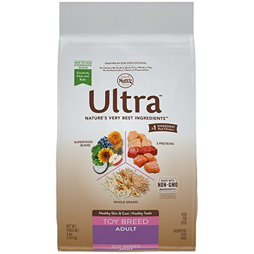 NUTRO ULTRA Toy Breed Adult Dry Dog Food (1) 8 lbs.; Delicious With Flavor; Rich in Nutrients and Full of Flavor for even the Tiniest of Dogs - NUTRO ULTRA Toy Breed Adult Dry Dog Food is tailored to meet the nutritional needs of small dogs weighing up to 10 pounds. Our premium dog food is made with nature's finest ingredients to provide complete and balanced adult nutrition in every bowl. It is formulated to support a healthy skin and c...