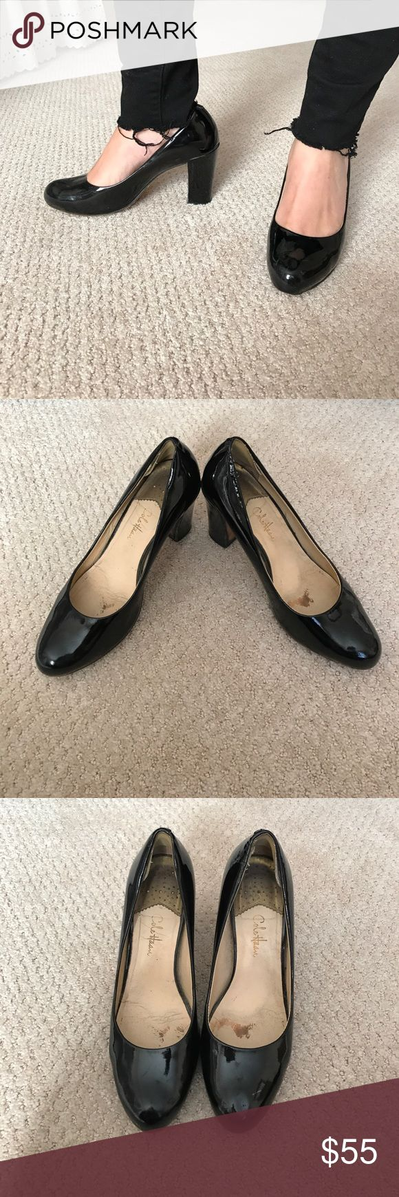 Cole Haan Nike air black patent pump Cole Haan Nike Air black patent pumps. Size 8. Very comfortable, Nike air technology is great for work! Ships with original box Cole Haan Shoes Heels