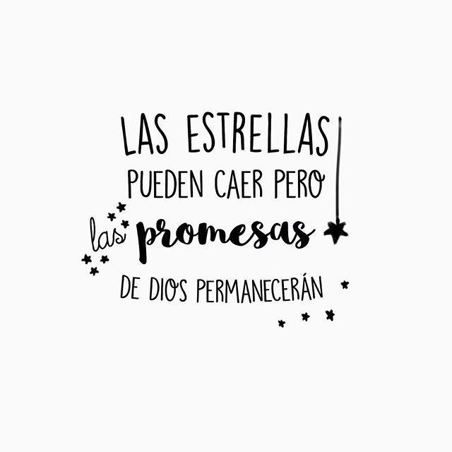 Las promesas de dios permaneceran para siempre Cielo y tierra pasara pero su palabra es si y amen.