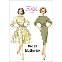 Misses Dress Butterick Sewing Pattern 6242