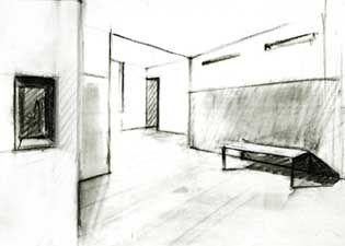 Videos! Interior With Two Point Perspective