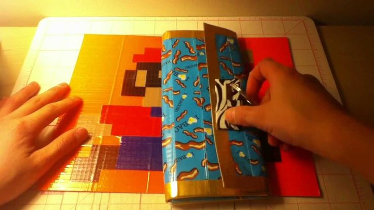 21 best duct tape crafts images on pinterest duck tape for Mini duct tape crafts