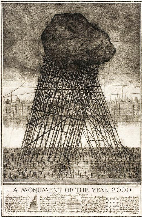 alexander brodsky & ilya utkin - a monument of the year 2000