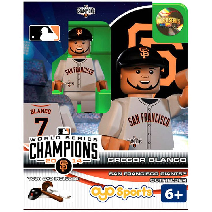 Gregor Blanco San Francisco Giants OYO Sports 2014 World Series Champions Minifigure - $10.39