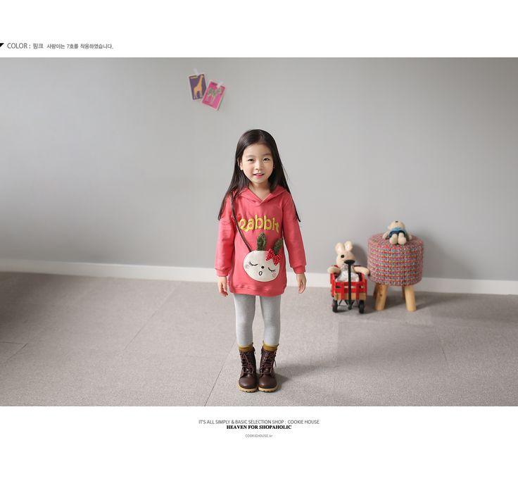 Korea children's No.1 Shopping Mall. EASY & LOVELY STYLE [COOKIE HOUSE] Bernie Petit Long tee / Size : 5-13 / Price : 26.46 USD #cute #koreakids #kids #kidsfashion #adorable #COOKIEHOUSE #OOTD #top #long_T #T #TEE #hood #long_hood #dailylook #dailyfashion #unique