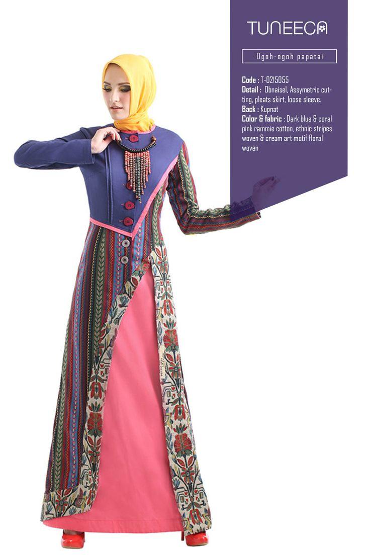 Tamapole Orchid Scarce by Tuneeca  #tuneeca #muslimwear #hijab #fashion #casualwear #tuneeca #muslimwear #hijab #fashion