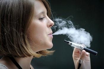 Une étude sur la vapeur de la cigarette électronique