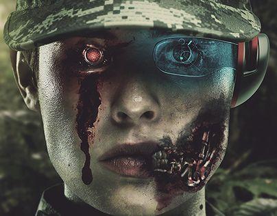 "Check out new work on my @Behance portfolio: ""Cyborg""…"