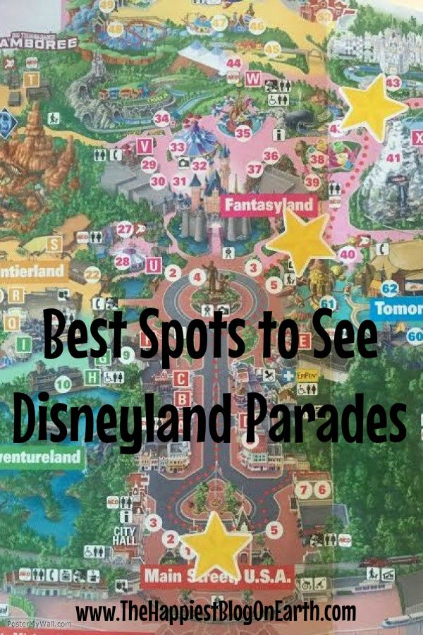 My favorite Disneyland parade viewing spots from the #Disneyland experts at The Happiest Blog on Earth.