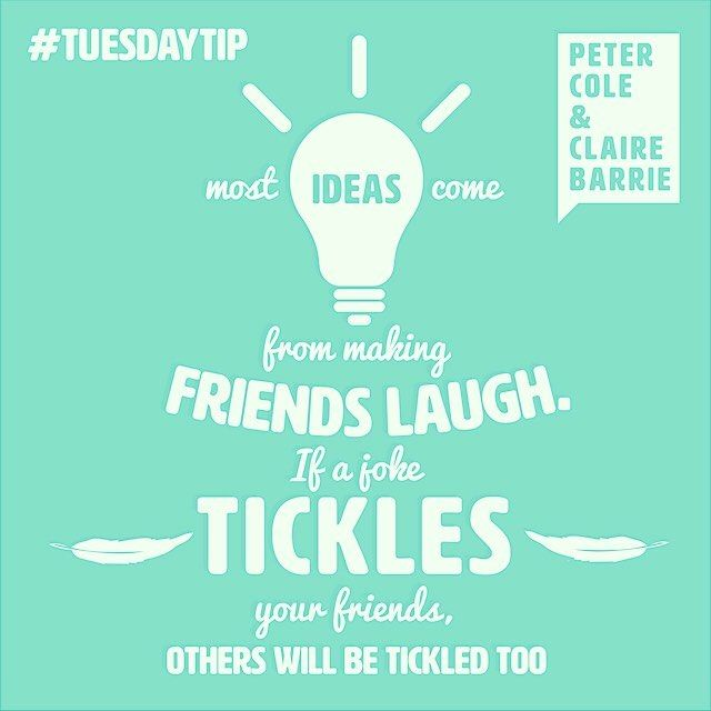 The awesome duo from @petercolepoet gave us this little tidbit of advice for this week's #TuesdayTip. #design #greetingcards #typography #illustration #illustrator