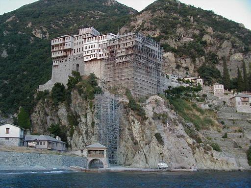 Dionysiou Monastery, Mt Athos, Macedonia, Greece