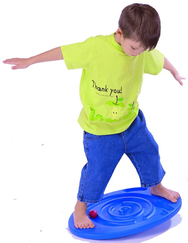 Maze Balance Board - Practice balance and coordination skills while trying to direct that ball through the maze. Fun!