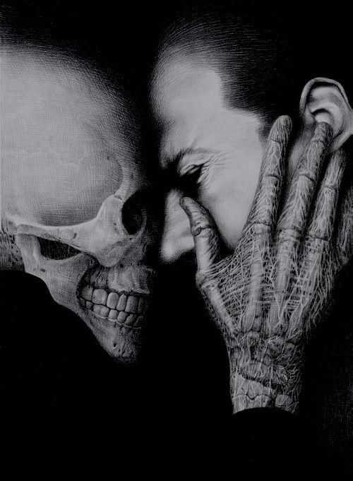 THANATOPHOBIA [noun] the fear of death.