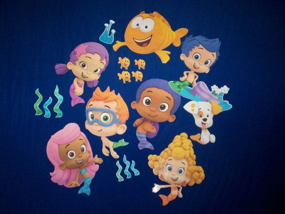 1000+ images about Bubble Guppies Room on Pinterest : Toys ...