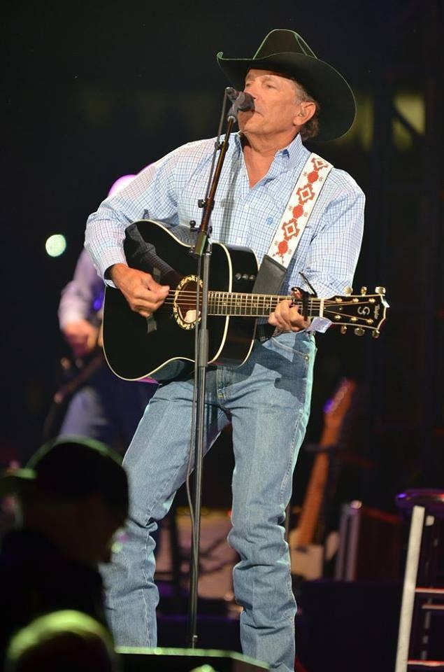 Country Music Singer George Strait