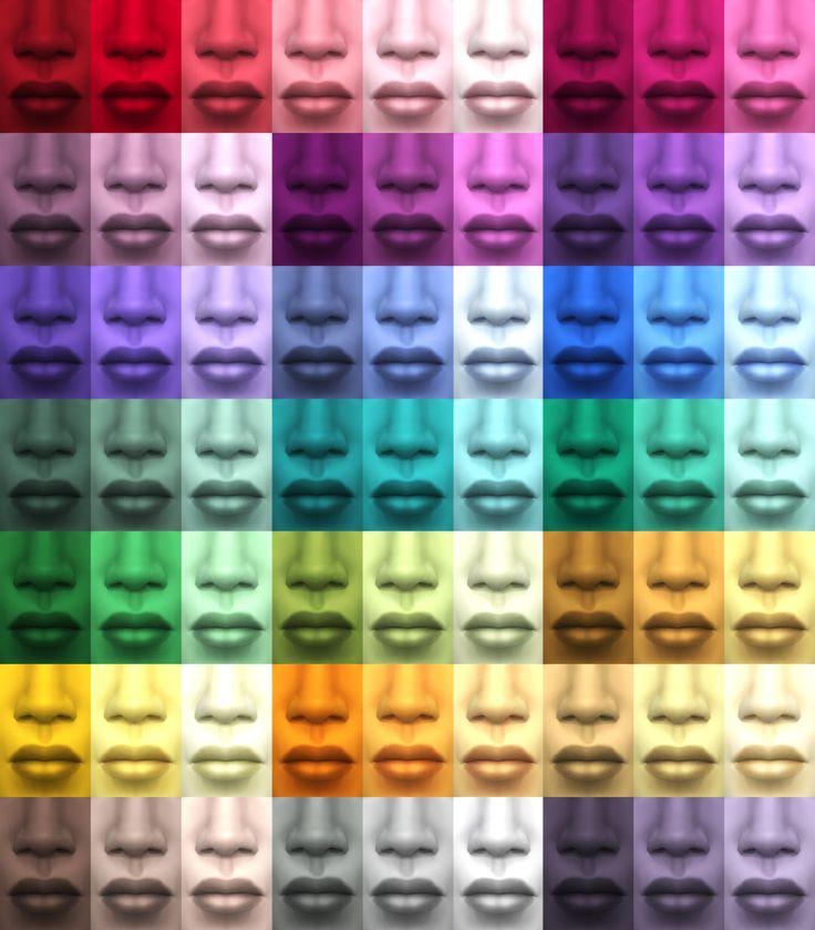 Sims  Natural Skin Colors Aliens